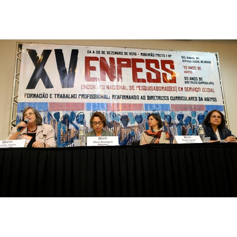 XV ENPESS - Ribeirão Preto (SP)