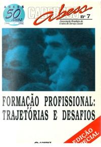 Formação Profissional: Trajetórias e Desafios . Caderno Abess, n.7, Cortez: São Paulo 1997