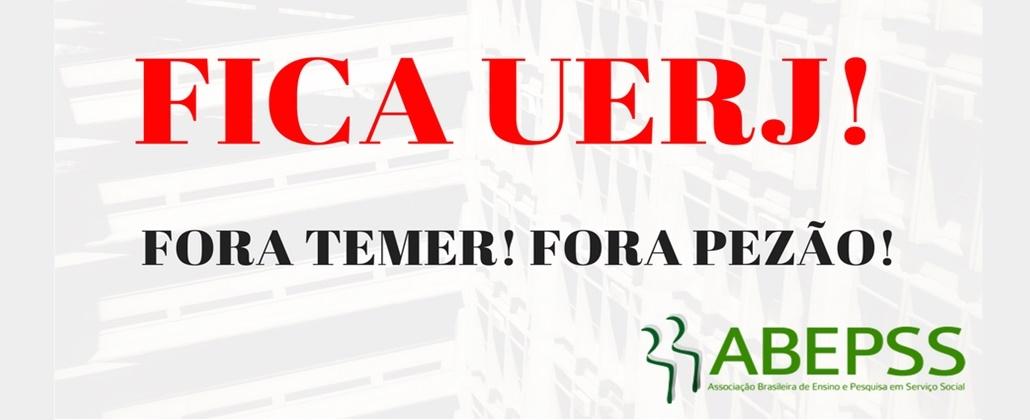Em defesa das universidades estaduais do Rio de Janeiro!