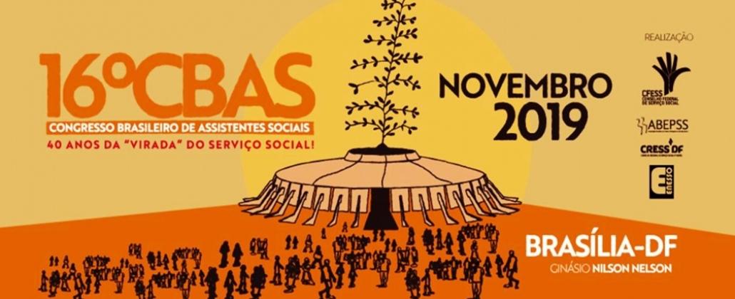 Apresentação 16º Congresso Brasileiro de Assistentes Sociais (CBAS)