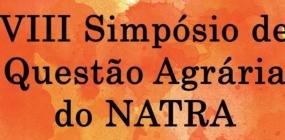 Inscrições abertas para VIII Simpósio de Questão Agrária do Natra