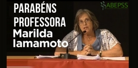 Marilda Iamamoto recebe prêmio internacional da AIETS