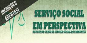 Prazo para submissão de artigos à revista Serviço Social em Perspectiva vai até 29 de abril