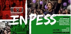 XVI ENPESS será em dezembro e inscrições estão abertas