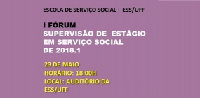 Fórum debaterá campanha da ABEPSS sobre supervisão de estágio