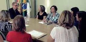 ABEPSS participa de audiência com reitor da UFFS