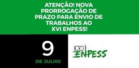 Prazo para envio de trabalhos ao XVI ENPESS é estendido para 9 de julho