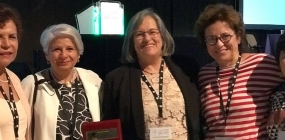 Marilda Iamamoto recebe prêmio Katherine A. Kendall
