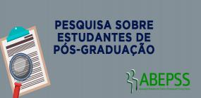 GT da ABEPSS faz pesquisa sobre estudantes de pós-graduação em Serviço Social