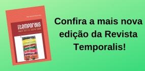 Confira a edição de nº 36 da Revista Temporalis