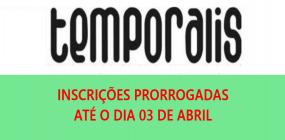 Inscrições prorrogadas! Envio de trabalhos à Revista Temporalis termina nesta quarta-feira, 03