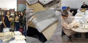 Após inundação da sede, ABEPSS recebe solidariedade para a restauração de documentos