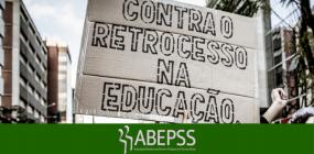 NÃO AO CORTE DE VERBAS NA EDUCAÇÃO!