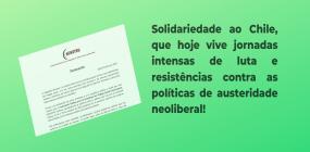 ABEPSS manifesta solidariedade ao povo do Chile