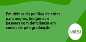NOTA DA ABEPSS PELA REVOGAÇÃO DA PORTARIA Nº 545/2020