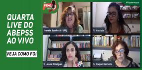 Quarta live do ABEPSS AO VIVO discute política social e trabalho profissional