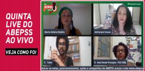 ABEPSS AO VIVO avança no debate étnico-racial e a  formação profissional em Serviço Social