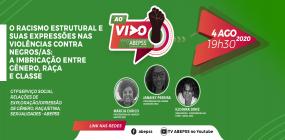 ABEPSS AO VIVO discute racismo estrutural nesta terça-feira, 4