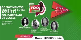 Encontro do ABEPSS AO VIVO discutirá os movimentos sociais e as lutas sociais