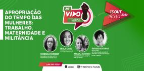 Décima live do ABEPSS AO VIVO discutirá apropriação do tempo das mulheres