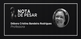 Nota de pesar pela morte da professora Débora Cristina Bandeira Rodrigues