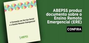 ABEPSS produz documento sobre o Ensino Remoto Emergencial