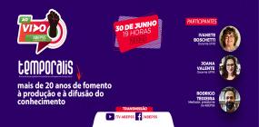 ABEPSS AO VIVO fará live sobre os mais de 20 anos da Temporalis