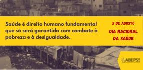 Abepss alerta para o desmonte do SUS e o avanço da pobreza que agrava a pandemia