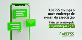 ABEPSS divulga novo endereço de e-mail